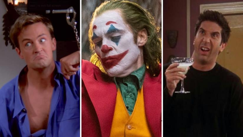 Chandler, Joker e Ross