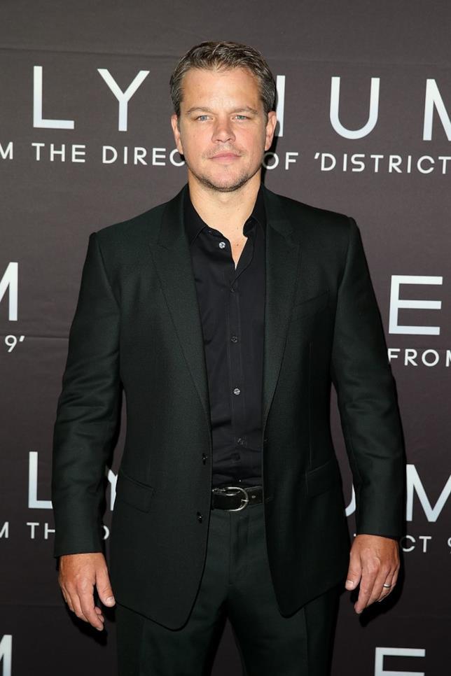 Matt Damon sul red carpet
