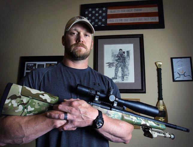 Chris Kyle in una foto