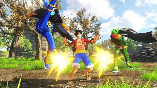 Un combattimento da One Piece World Seeker