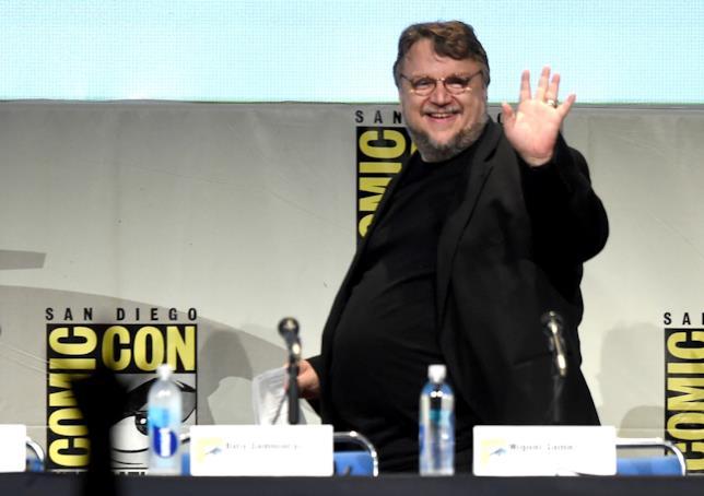 Il regista e scrittore Guillermo del Toro.