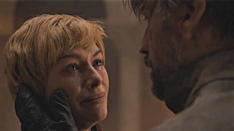 Lena Headey e Nikolaj Coster-Waldau in Game of Thrones 8x05