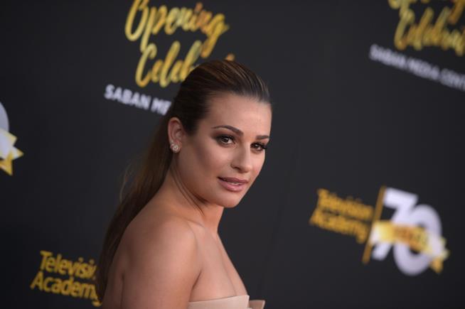 Primo piano di Lea Michele