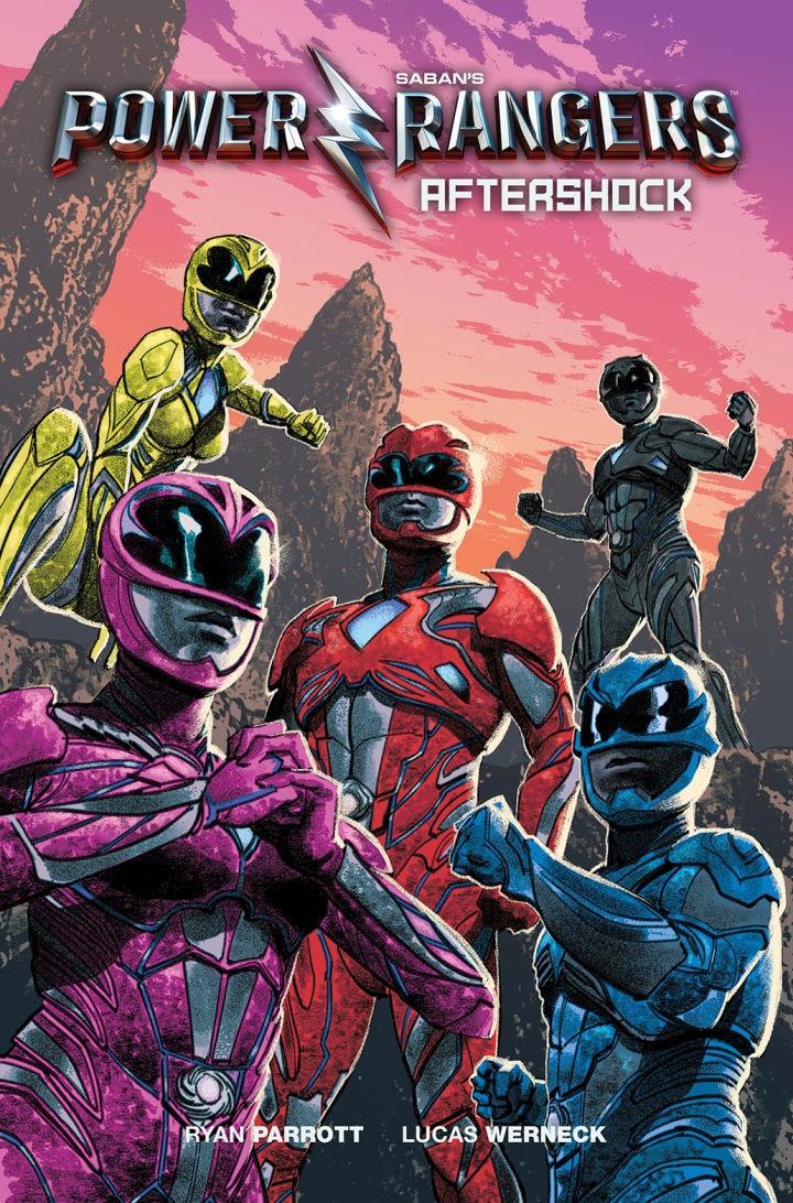 I Power Rangers disegnati da Greg Smallwood