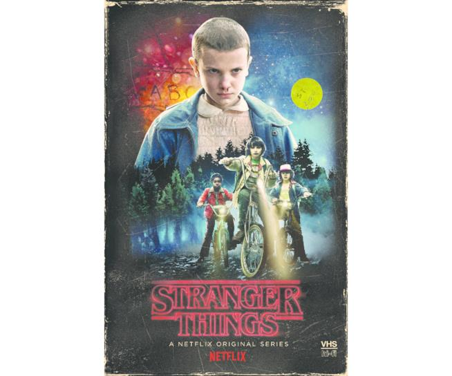 Cover del boxset Stranger Things in esclusiva target
