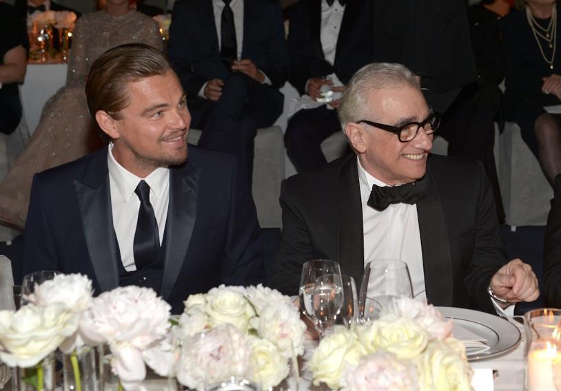 Leonardo DiCaprio e Martin Scorsese a tavola