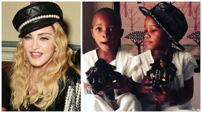Madonna con le sue gemelline