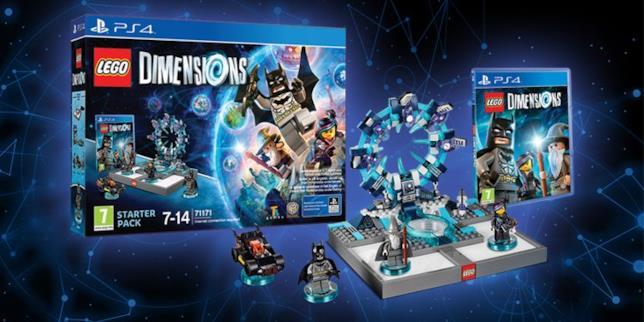 Lo starter pack di LEGO Dimensions nella versione per PlayStation 4