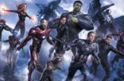 Iron Man nella scena finale di Avengers: Endgame quando sciocca le dita
