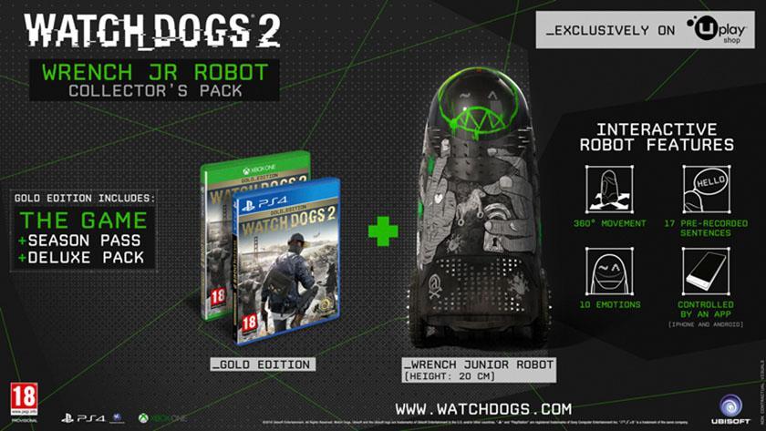 Watch Dogs 2, tutte le edizioni speciali