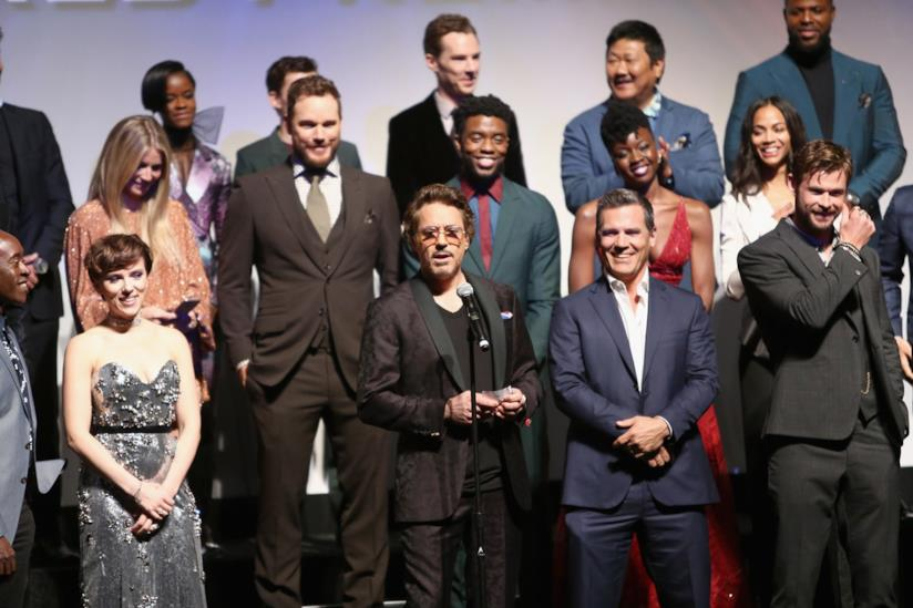 Gli attori di Avengers: Infinity War