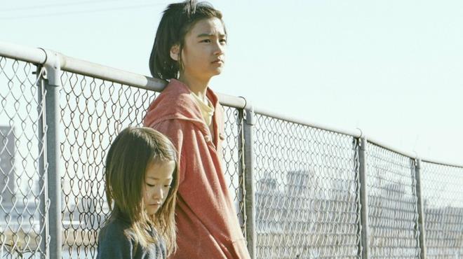 I due giovani protagonisti di Un Affare di famiglia