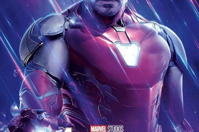 Character poster dedicato ad Iron Man di Avengers: Endgame