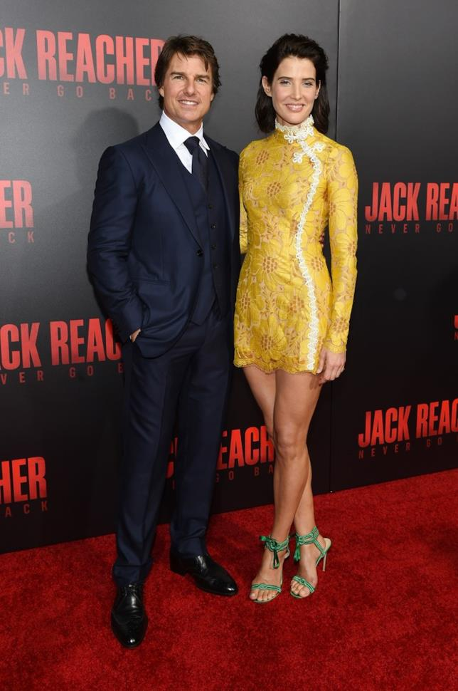 Cobie Smulders e Tom Cruise alla prima di Jack Reacher: Punto di Non Ritorno