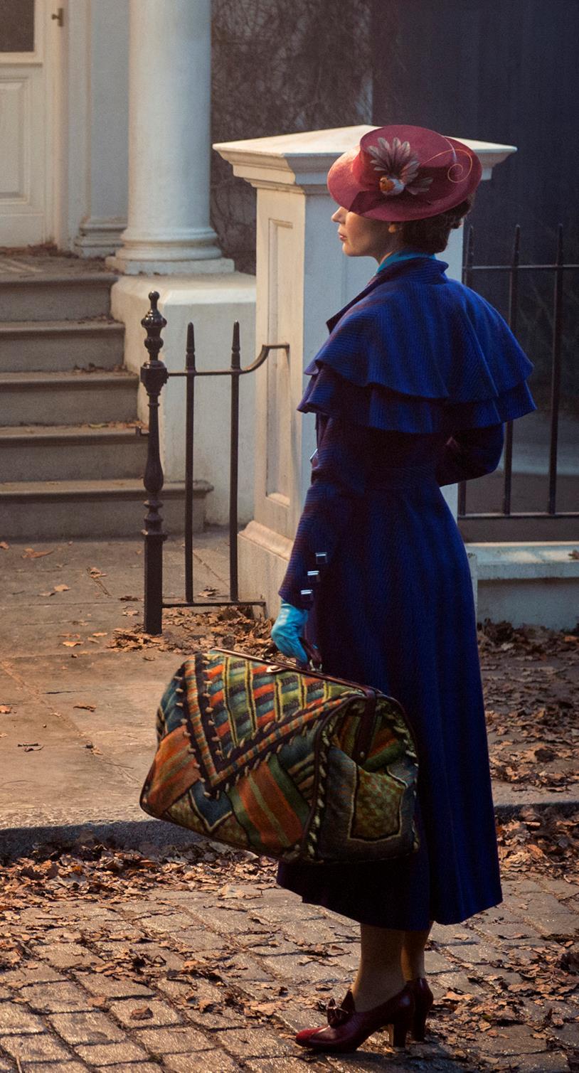 scena di Mary Poppins Returns