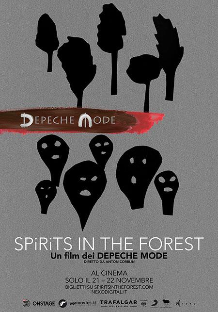 Il poster di Depeche Mode. Spirits in the Forest, film diretto da Anton Corbijn