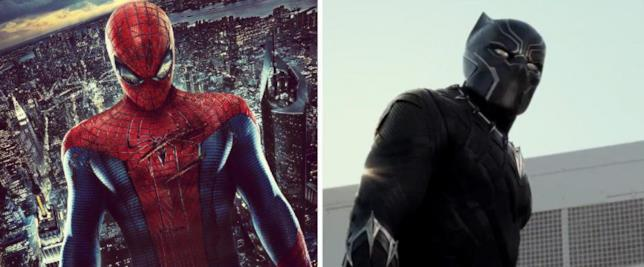 Spider-Man e Black Panther, le immagini dei nuovi protagonisti del MCU