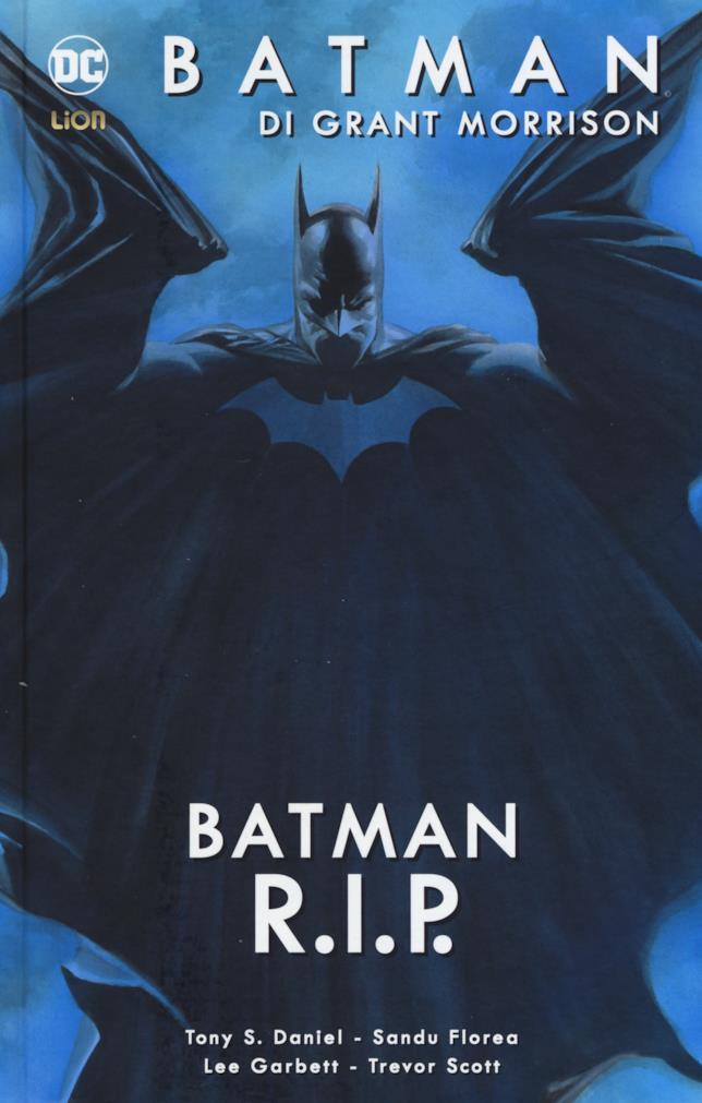 Copertina cartonata di Batman R.I.P. edizione Lion