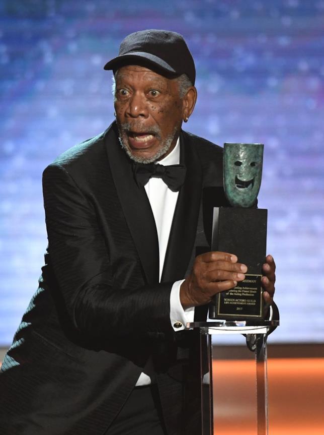 Morgan Freeman ai SAG Awards 2018
