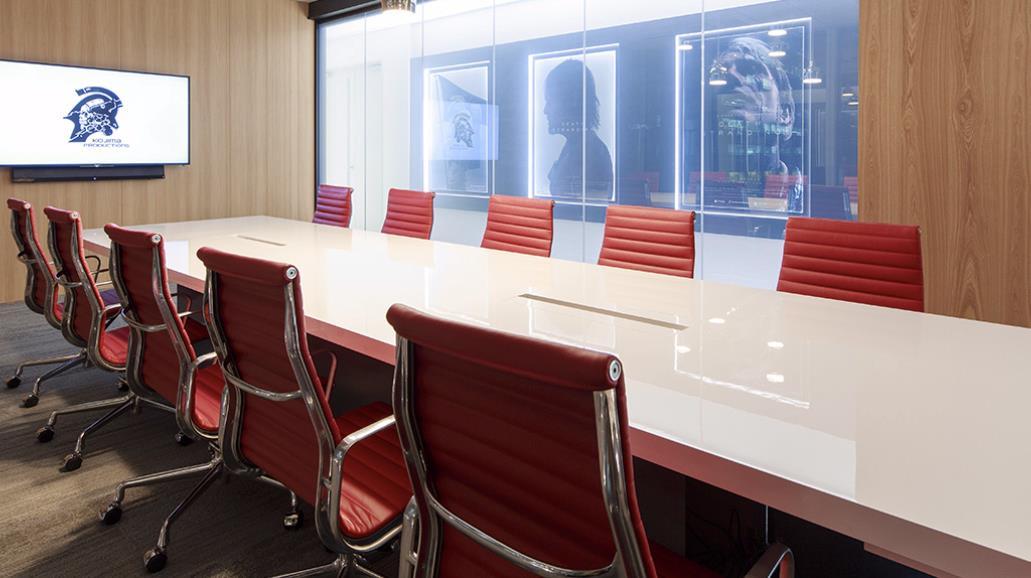 Sala riunioni di Kojima Productions