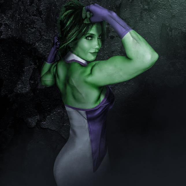 She-Hulk con le fattezze di Jennifer Lopez