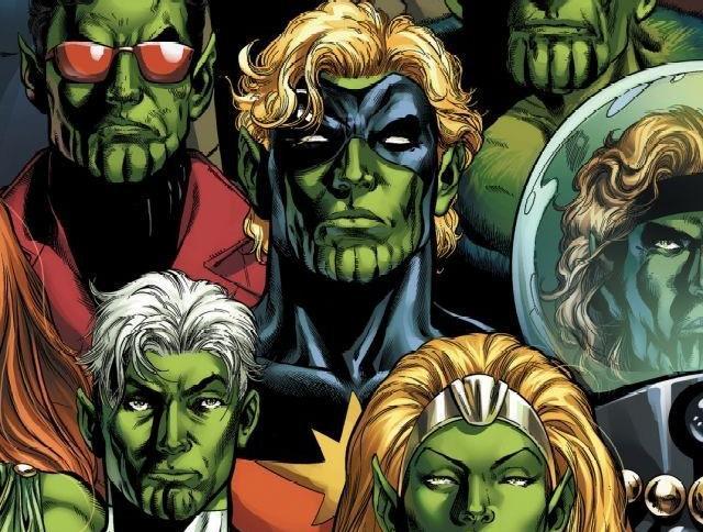 Dettaglio della cover di Secret Invasion: Who Do You Trust? #1