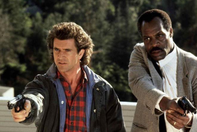 Mel Gibson e Danny Glover