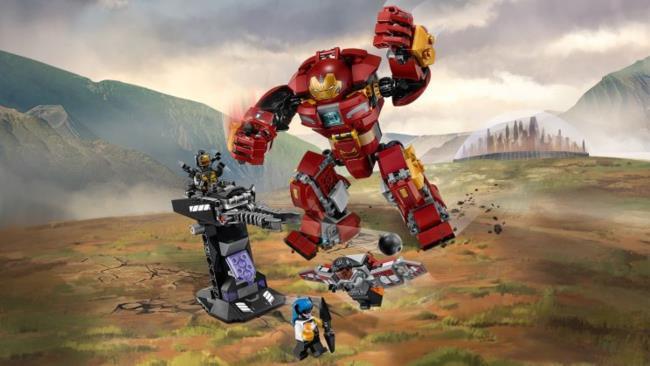 Il set LEGO Duello con l'Hulkbuster