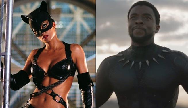 Immagini da Catwoman e Black Panther