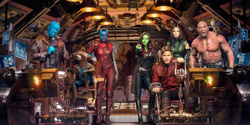 Il team dei Guardiani della Galassia
