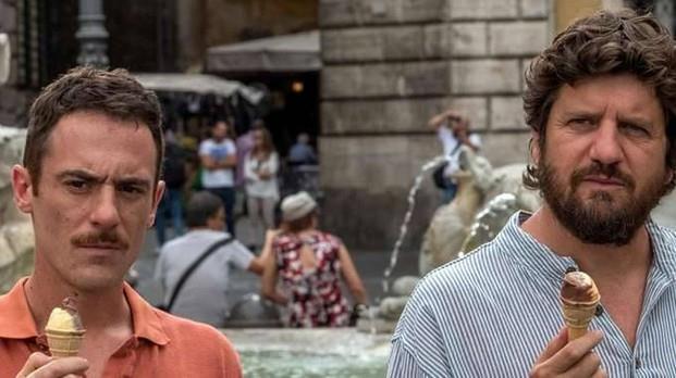 Questione di karma scena a Roma