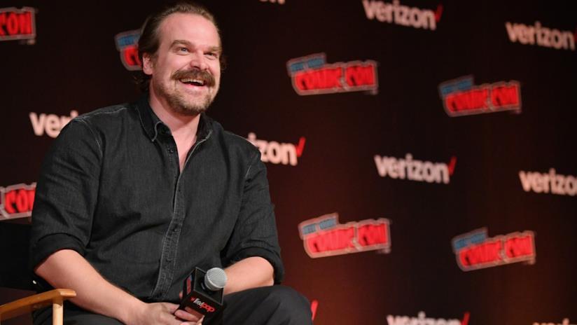 David Harbour al New York Comic Con