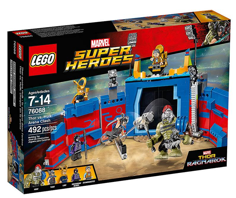 Dettagli del box del set LEGO LEGO Thor contro Hulk: duello nell'arena