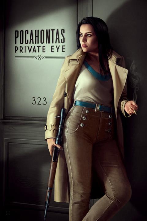 Pocahontas in versione film noir