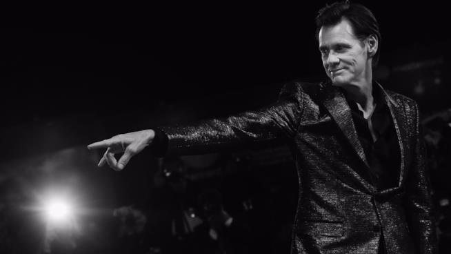 L'attore Jim Carrey