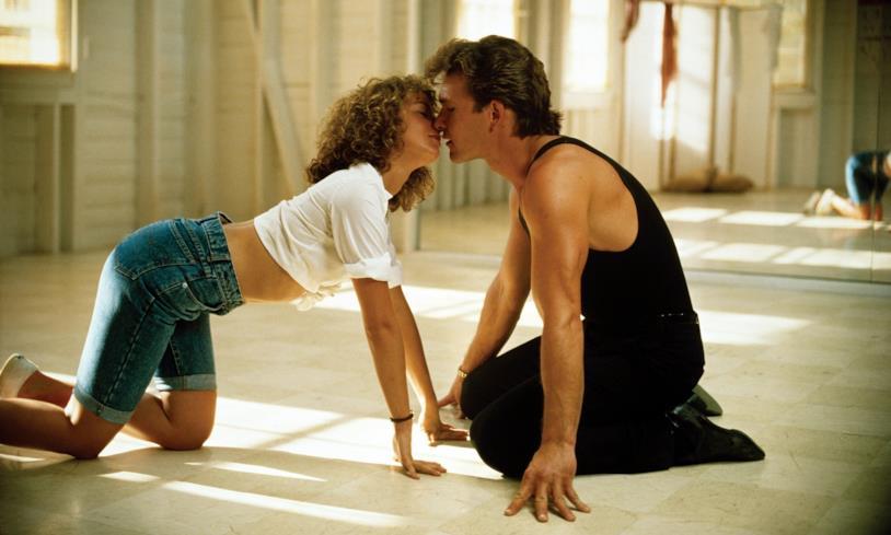 Jennifer Grey e Patrick Swayze in Dirty Dancing (1987)