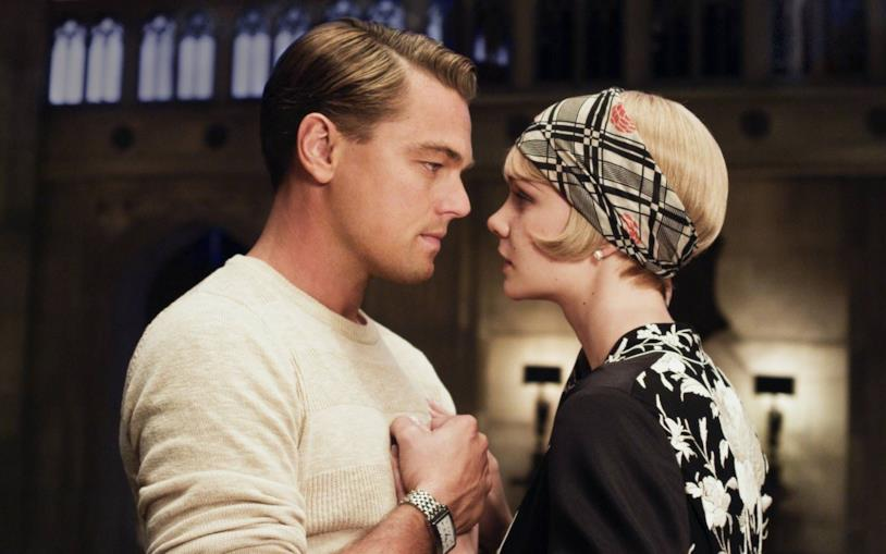 Leo DiCaprio e Carey Mulligan in una scena del film