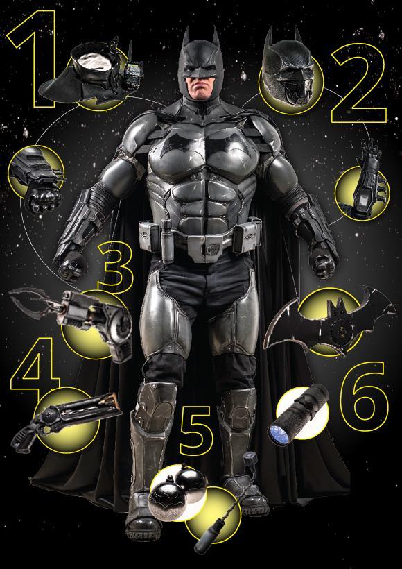 Batman, la tuta entrata nel Guinness dei primati