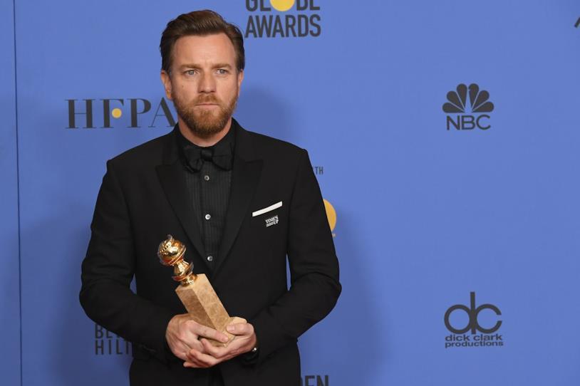 L'attore Ewan McGregor ai Golden Globe