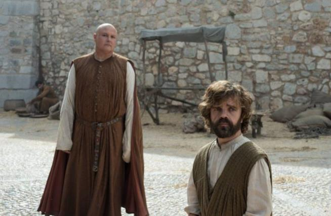 Varys  e Tyrion in Game of Thrones