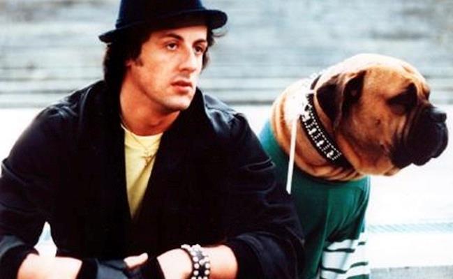 Butkus con Sylvester Stallone in Rocky