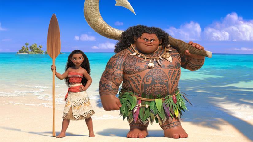 I protagonisti di Moana di Disney