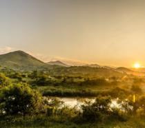 Uno scorcio della regione delle Makhonjwa Mountains