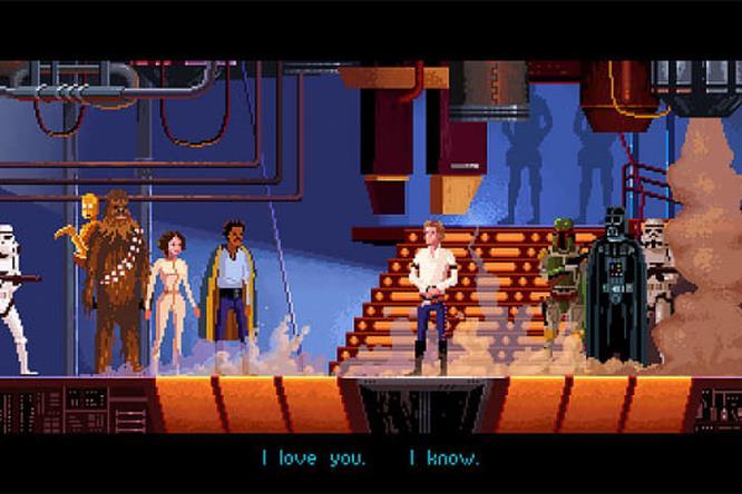 Guerre Stellari ad 8-bit