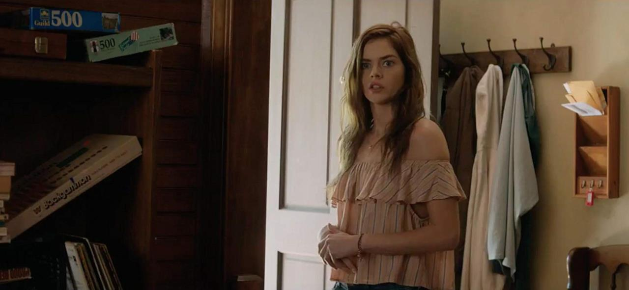 Penelope in una delle scene del film