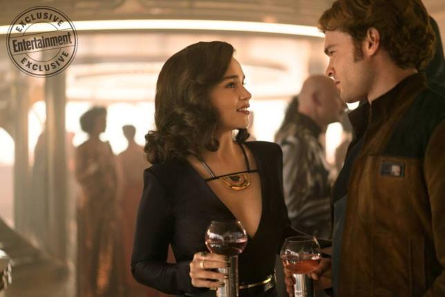 Qi'ra e Han Solo