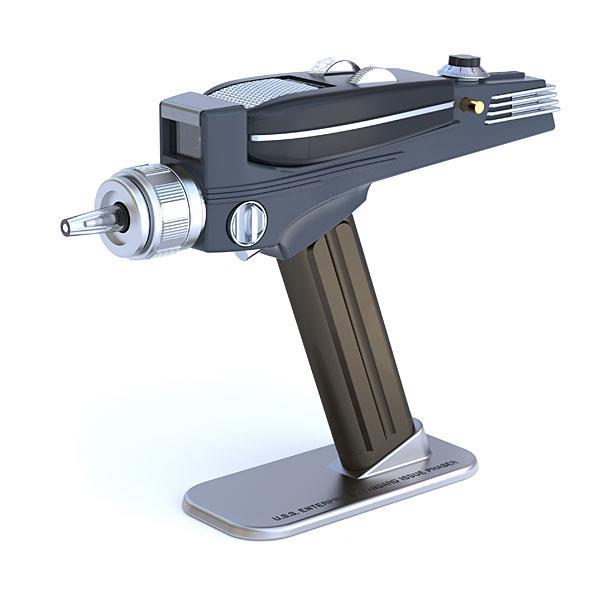 Il phaser di Star Trek