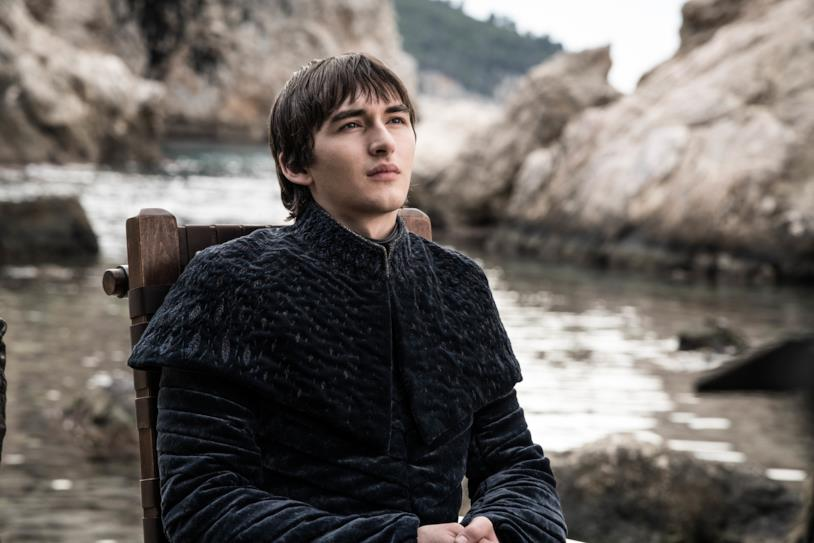 Bran saluta il fratello in GoT 8x06