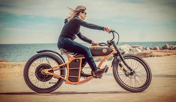 Queste Bici Elettriche Su Modello Harley Davidson Sono Bellissime