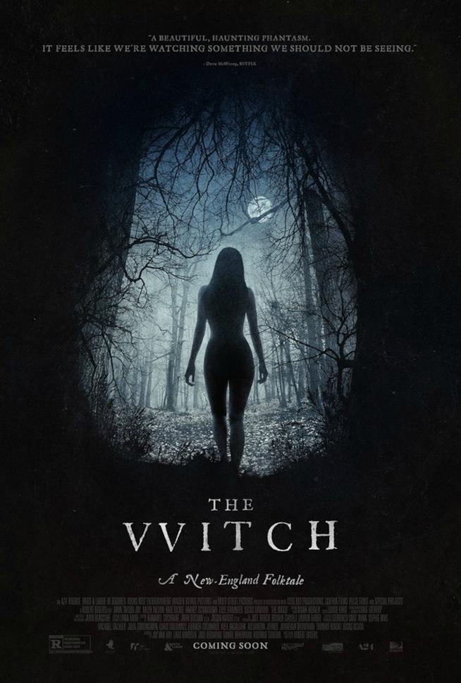 Locandina horror The Witch 2016